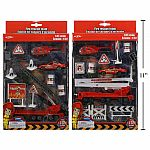 Die-Cast Fire Engine Playset