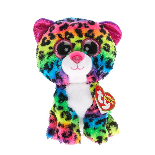 a44547b3604 Ty Dottie Rainbow Leopard Beanie Boo Medium - The Granville Island ...