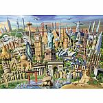 1000pc World Landmarks