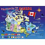 100pc  Map of Canada