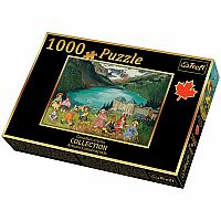1000pc Trefl: Paquin/Lake Louise