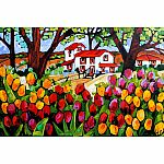 1000pc Trefl A Day In The Garden