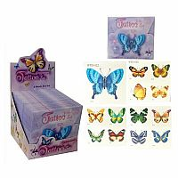 Butterfly Tattoos- 4 Sheets