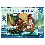 Disney Moana & Maui 100pc Puzzle