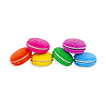 Macaron Scented Erasers - Set of 6