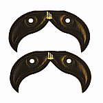 Shwings Moustache - Black Foil