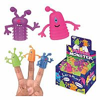 Finger Monster Puppet