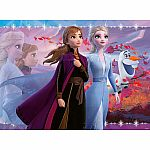 100pc Disney Frozen 2 - Strong Sisters
