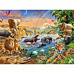 100pc Savannah Jungle Waterhole