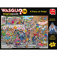 1000pc Wasgij Orig#34 A Piece of Pride