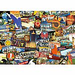 1000pc Road Trip USA