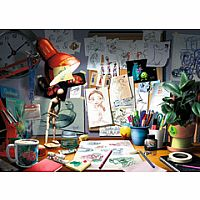 1000pc Disney-Pixar: The Artist's Desk