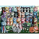 1000pc Cat Family Reunion
