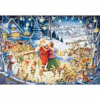 1000pc Santa's Christmas Party