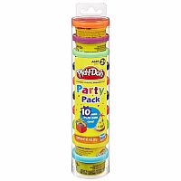 PLAY DOH Party Pack Tube (10pc)