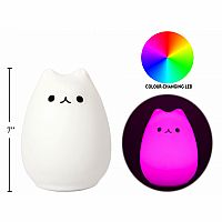 Silicone Touch Light, Cat