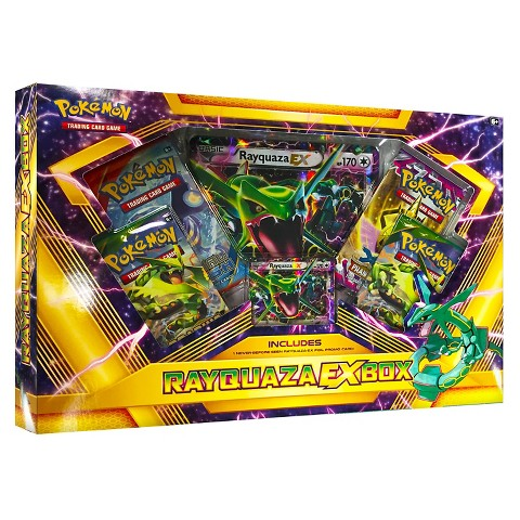 Pokemon: Shiny Rayquaza Ex Box - The Granville Island Toy Company