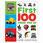 Make Believe Board Book - First 100 Things that Go