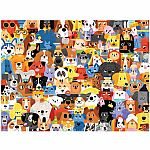 500pc Lots of Dogs