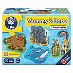 Orchard Mummy & Baby 2pc puzzle