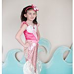 Pink Mermaid Dress  Size 5-6