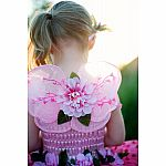 Pink Blossom Wings in Tulle Bag