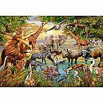 500pc Majestic Watering Hole