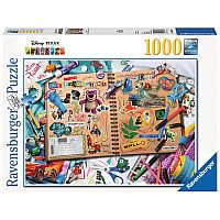 1000pc Scrapbook - Disney