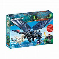 Hiccup and Toothless Playset