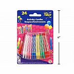 Birthday Candles 24pk