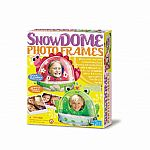 4M Snow Dome Photo Frames .