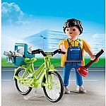 4791 - Handyman with Bike