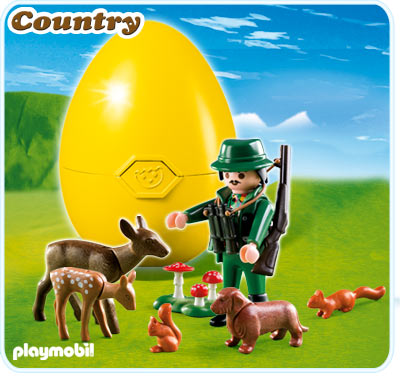 Playmobil 4938 Ranger with Animals New in Box