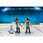 5070 - NHL Referees with Stanley Cup