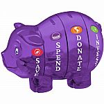 Money Savvy Pig - Purple