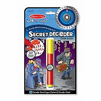 Melissa & Doug - Secret Decoder Game Book - ON the GO Travel Activity Book