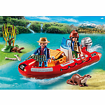 5559 - Inflatable Boat with Explorers