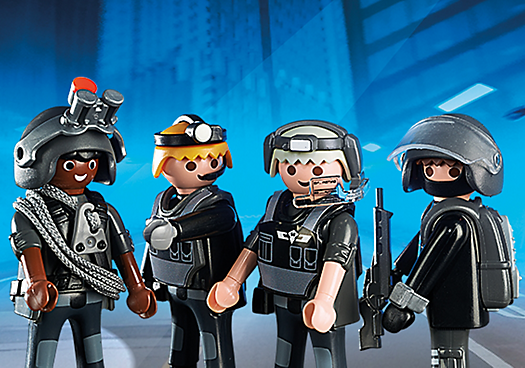 5565 Tactical Unit Team The Granville Island Toy Company