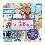 A Day in Paris Paper Doll Set