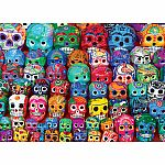 1000pc Traditional Mexican Skulls