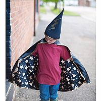Reversible Wizard Cape