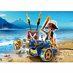 6164  - Blue Interactive Cannon with Pirate