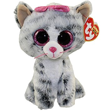 Ty Kiki Grey Cat Beanie Boo Large - The Granville Island Toy Company 43c3dba9f6f9