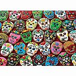 1000pc Sugar Skull Cookies