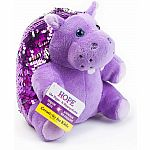 Mini Sequin Pets: Hope the Hippopotamus