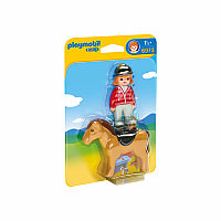 6973 - Equestrian with Horse