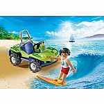 6982 - Surfer with Beach Quad