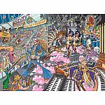 1000pc Wasgij Destiny #16 - Old Time Rockers