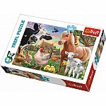 60pc Trefl Cheerful Farm