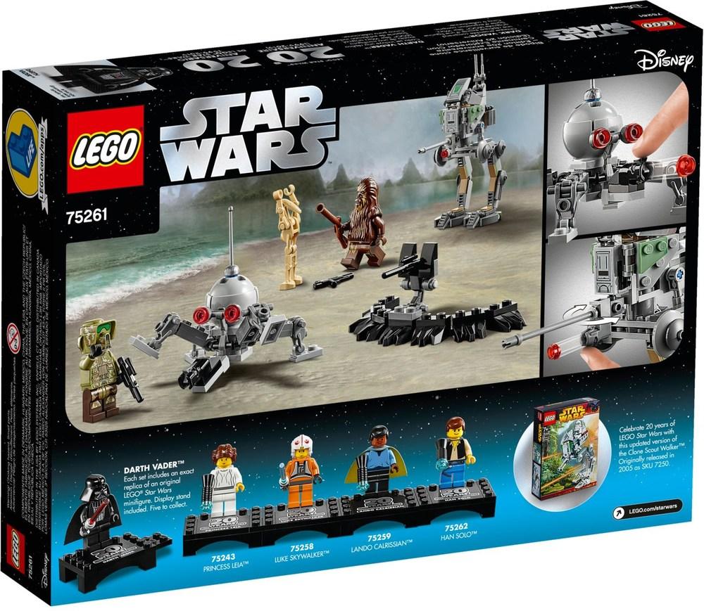 Display Stand! LEGO® STAR WARS™ 75262 20th Anniversary HAN SOLO Minifigure™
